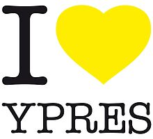 I ♥ YPRES by eyesblau