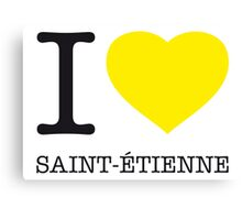 I ♥ ST. ETIENNE Canvas Print