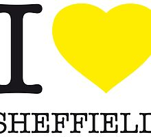 I ♥ SHEFFIELD by eyesblau