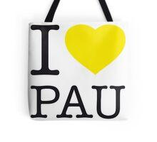 I ♥ PAU Tote Bag