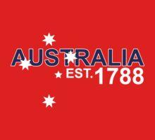AUSTRALIA EST. 1788 by PointZeroOne