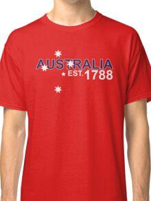 AUSTRALIA EST. 1788 Classic T-Shirt