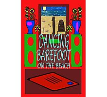 DANCING BAREFOOT Photographic Print