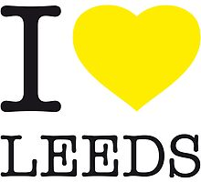 I ♥ LEEDS by eyesblau