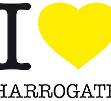 I ♥ HARROGATE by eyesblau