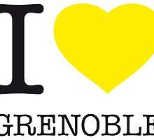I ♥ GRENOBLE by eyesblau