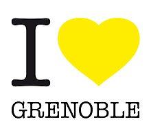 I ♥ GRENOBLE Photographic Print