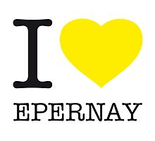 I ♥ EPERNAY Photographic Print