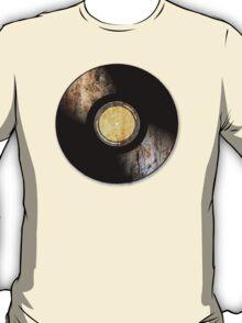 Vintage Vinyl Record Rust Texture - RETRO MUSIC DJ! T-Shirt
