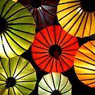 Oriental lanterns IV by Paige