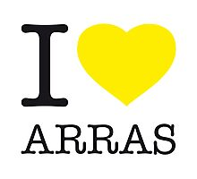 I ♥ ARRAS Photographic Print