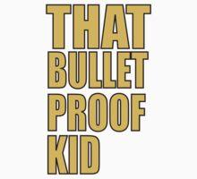 That Bulletproof Kid logo Kids Clothes