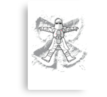 Imperial Snow Angel Canvas Print