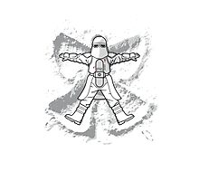 Imperial Snow Angel Photographic Print