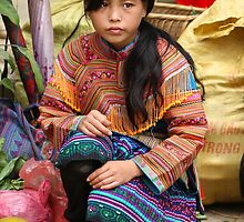 Bac Ha Market girl... by johnmoulds