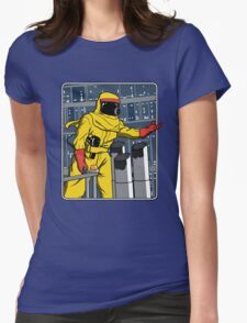 A Match Made In Space Womens Fitted T-Shirt