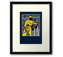 A Match Made In Space Framed Print