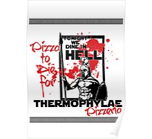 Thermophylae Pizzeria Poster
