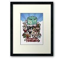 Adventure Time-Lords Framed Print