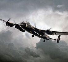 Avro Lancaster by J Biggadike