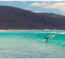Surfer by jamjarphotos