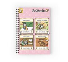 Neko atsume - rare cats Spiral Notebook