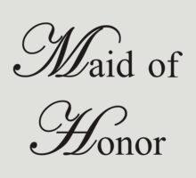 Maid of Honor by omadesign