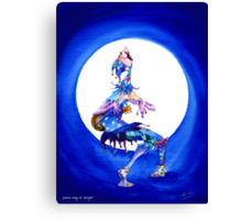 Jester song at Twilight Canvas Print