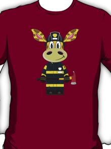 F is for Fireman T-Shirt