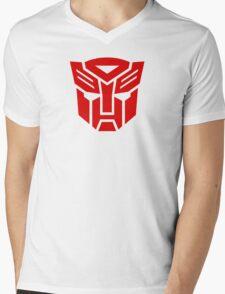 Transformers Autobot Logo Mens V-Neck T-Shirt