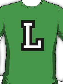 Letter L two-color T-Shirt
