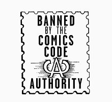 Banned by the CCA - Black Logo Unisex T-Shirt