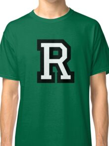 Letter R two-color Classic T-Shirt