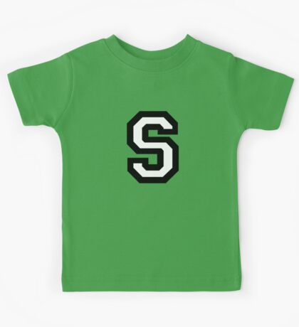 Letter S two-color Kids Tee