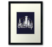 Gallifrey [Dr. Who] Framed Print