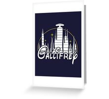 Gallifrey [Dr. Who] Greeting Card