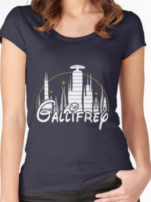 Gallifrey [Dr. Who] Women's Fitted Scoop T-Shirt