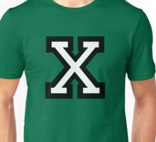 Letter X two-color Unisex T-Shirt
