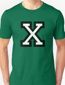 Letter X two-color T-Shirt