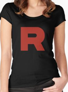 Team Rocket Shirt Women's Fitted Scoop T-Shirt