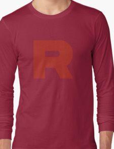 Team Rocket Shirt Long Sleeve T-Shirt