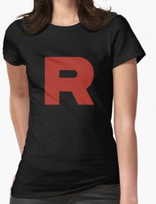 Team Rocket Shirt Womens Fitted T-Shirt