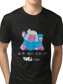 PokeFace DittoGaGa Tri-blend T-Shirt