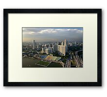 Singapore Soccer Framed Print