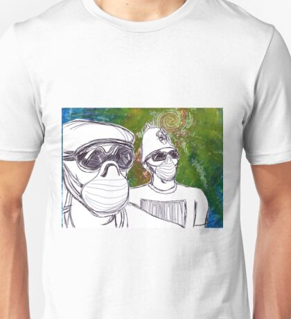 Two Brothers Go Shopping Unisex T-Shirt