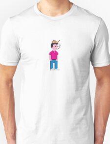 CHAV smoking - 8bit T-Shirt