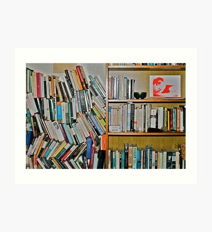 Ketab Art Print