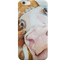 Nosey Cow! iPhone Case/Skin
