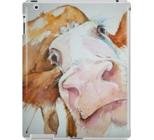 Nosey Cow! iPad Case/Skin