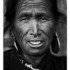 a woman in Humla by queenenigma